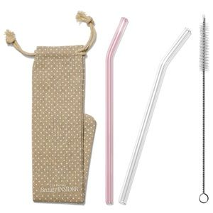SEPHORA | Beauty Insider Reusable Glass Straw Set